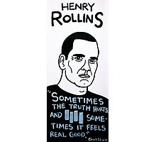 Henry Rollins Folk Art Photographic Print