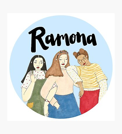 Ramona Gals Photographic Print