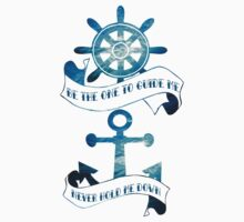 Be the one to guide me (Ocean scene) Kids Tee