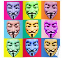 GUY FAWKES PROTEST Poster