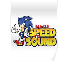 Sonic - The Speed of Sound Poster