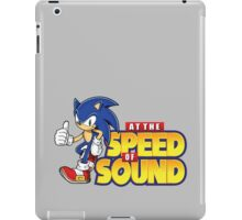 Sonic - The Speed of Sound iPad Case/Skin