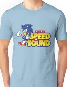 Sonic - The Speed of Sound Unisex T-Shirt