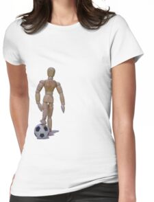 The Soccer Star Womens Fitted T-Shirt