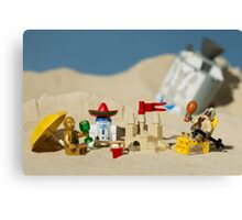 Lego Tatooine picnic Canvas Print