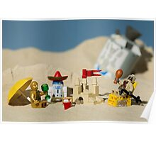 Lego Tatooine picnic Poster
