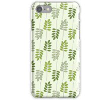 Green Fern Leaves iPhone Case/Skin