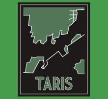 Taris Art Deco One Piece - Short Sleeve