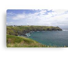 The coastal path Canvas Print