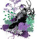 Floral Raven by Konoko479