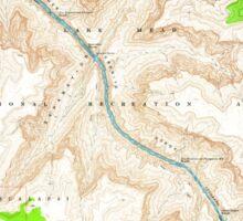 USGS TOPO Map Arizona AZ Separation Canyon 313324 1967 24000 Sticker