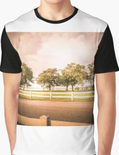 The Light Behind the Trees Graphic T-Shirt
