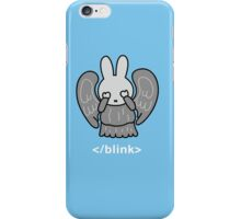 Don't Blink Miffy iPhone Case/Skin