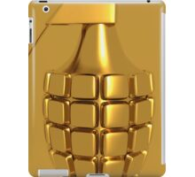 Golden Hand Grenade   iPad Case/Skin