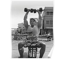 Every Workout Counts (Arnold) Poster