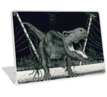 T-Rex Escape Laptop Skin