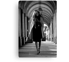 Feminin[c]ity - London Canvas Print