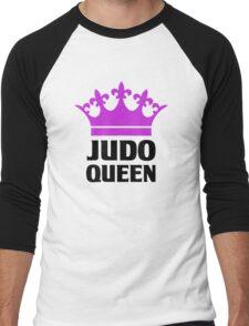 Judo Queen Funny Womens T Shirt Men's Baseball ¾ T-Shirt