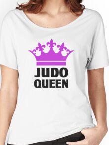 Judo Queen Funny Womens T Shirt Women's Relaxed Fit T-Shirt