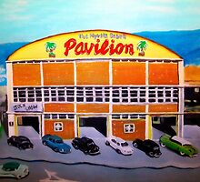 Myrtle Beach Pavilion - Circa 1948-50. by Karen L Ramsey