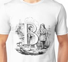 Child Alphabet Letter B Unisex T-Shirt