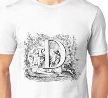 Child Alphabet Letter D Unisex T-Shirt