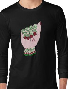 ASL A is for Apple Long Sleeve T-Shirt