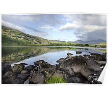 Reflections Of Snowdonia Poster