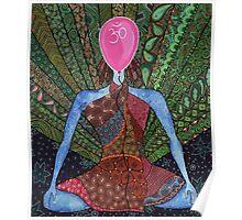 maditation, yoga  Poster