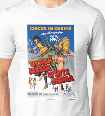 Black Mama White Mama (Red) Unisex T-Shirt