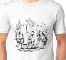 Child Alphabet Letter H Unisex T-Shirt