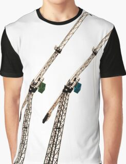 Two Cranes Graphic T-Shirt