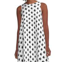 #1 Butterfly A-Line Dress