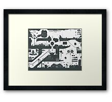 Vector Doodle 12 (Updated) Framed Print