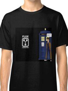 Dr Who David Tennant vs Back to the Future Classic T-Shirt