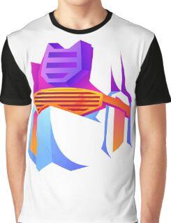 Retro Soundwave Graphic T-Shirt