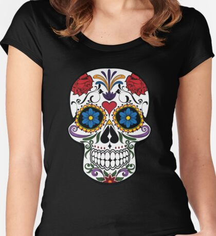 The Beautiful Dead Women's Fitted Scoop T-Shirt