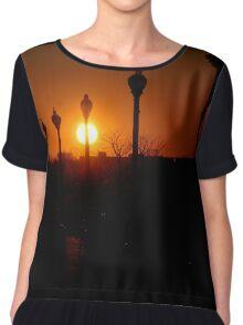 Liberty Sunset Chiffon Top