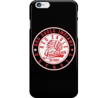 Red Eagle Indians Detroit Ice Hockey iPhone Case/Skin