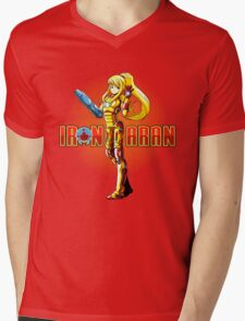 Iron Samus Mens V-Neck T-Shirt