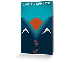 L'Alpe D'huez Greeting Card