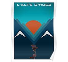 L'Alpe D'huez Poster