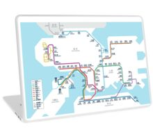 Hong Kong MTR Map 2016 Laptop Skin