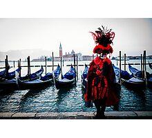 Venice Carnevale 11 Photographic Print