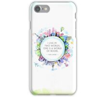 Rory Gilmore Bookish World iPhone Case/Skin