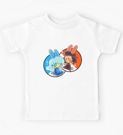 Steven Universe/Pkmn Crossover - Rudy n Sapphire  Kids Tee