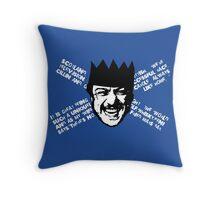 FILTH - SCOTLAND Throw Pillow