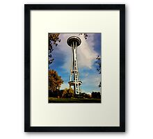 The Needle, Photo / Digital Painting  Framed Print