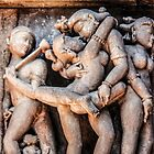 Ancient erotica, Khajuraho by indiafrank