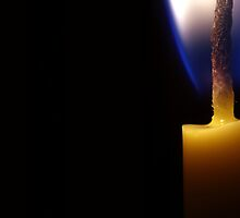 Birthday candle by AWLPIX